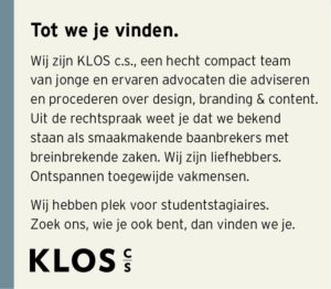 Vacature student stagiaires KLOS c.s.